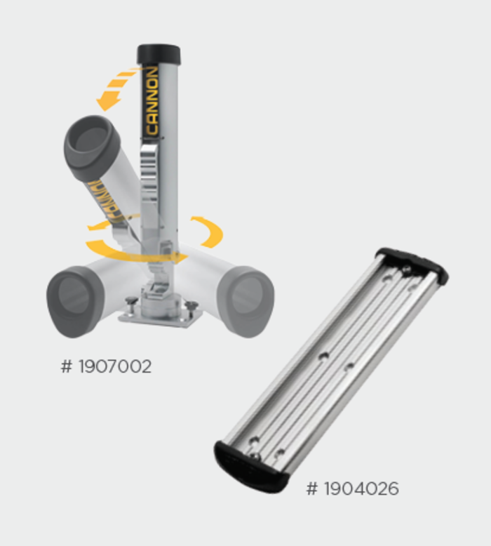 Cannon Rod Holder Package