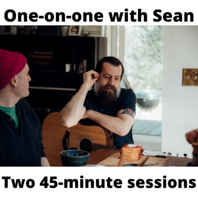 One-on-one training session w/ Sean (Two 45-minute Sessions)