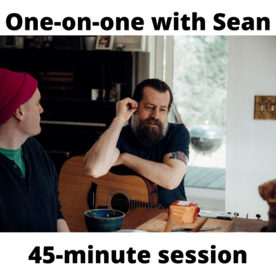 One-on-one training session w/ Sean (45-minutes)