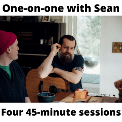 One-on-one training session w/ Sean (Four 45-minute Sessions)