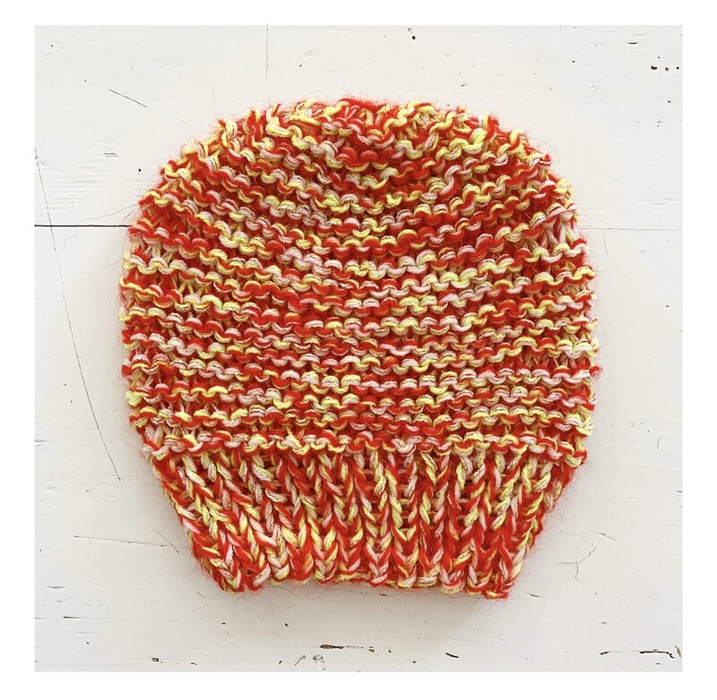 Red, Golden and Yellow Hat
