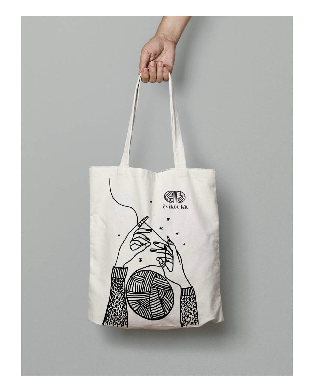 ëviköt Canvas Bag