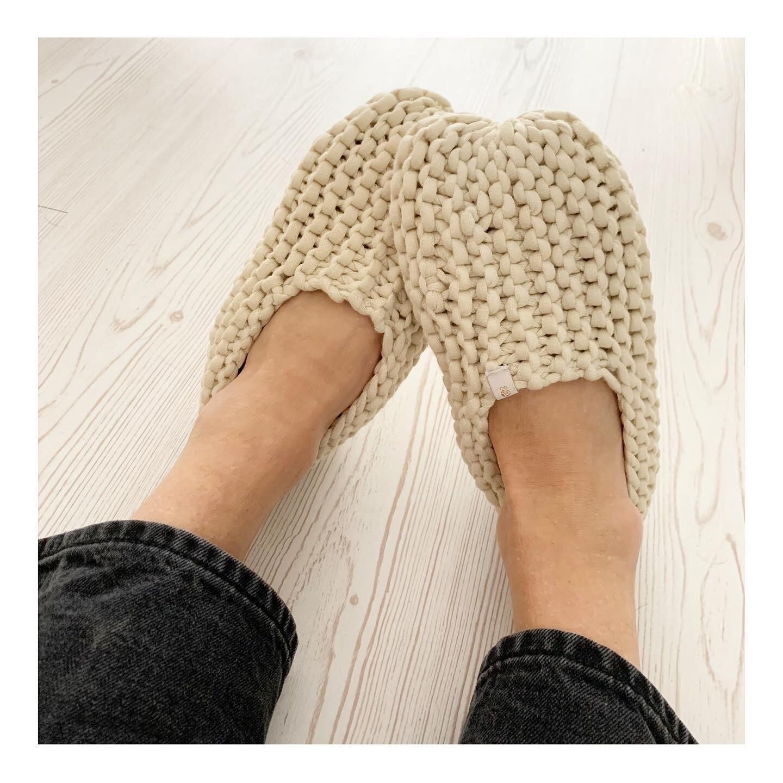 Light Beige Slippers