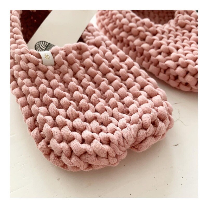 Baby Pink Slippers