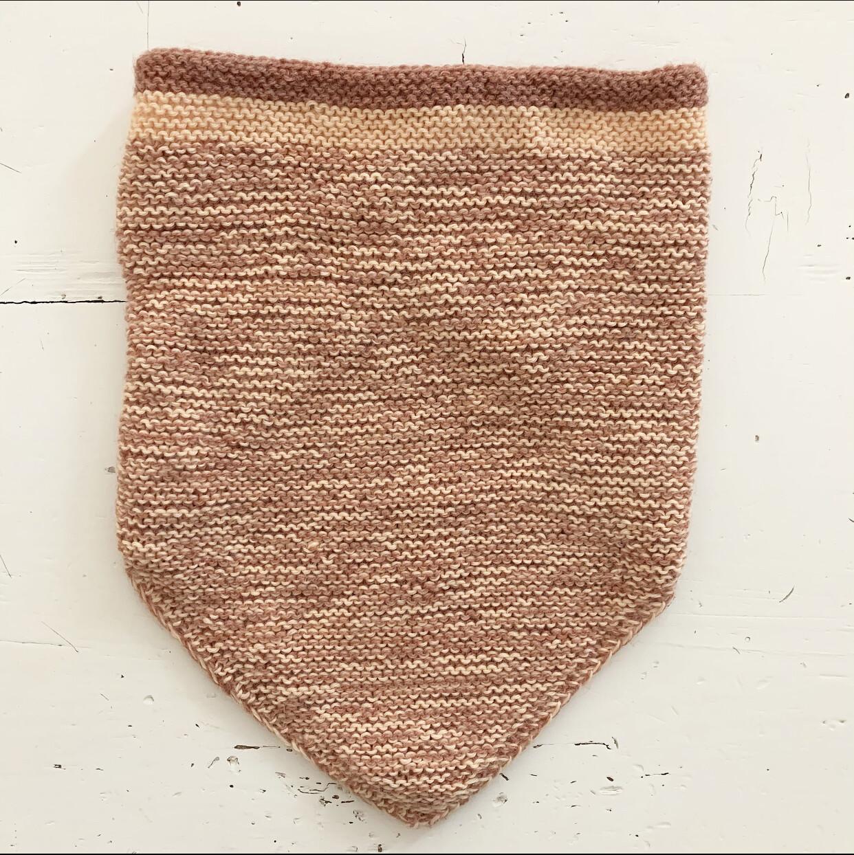 Brown Triangle Shawl