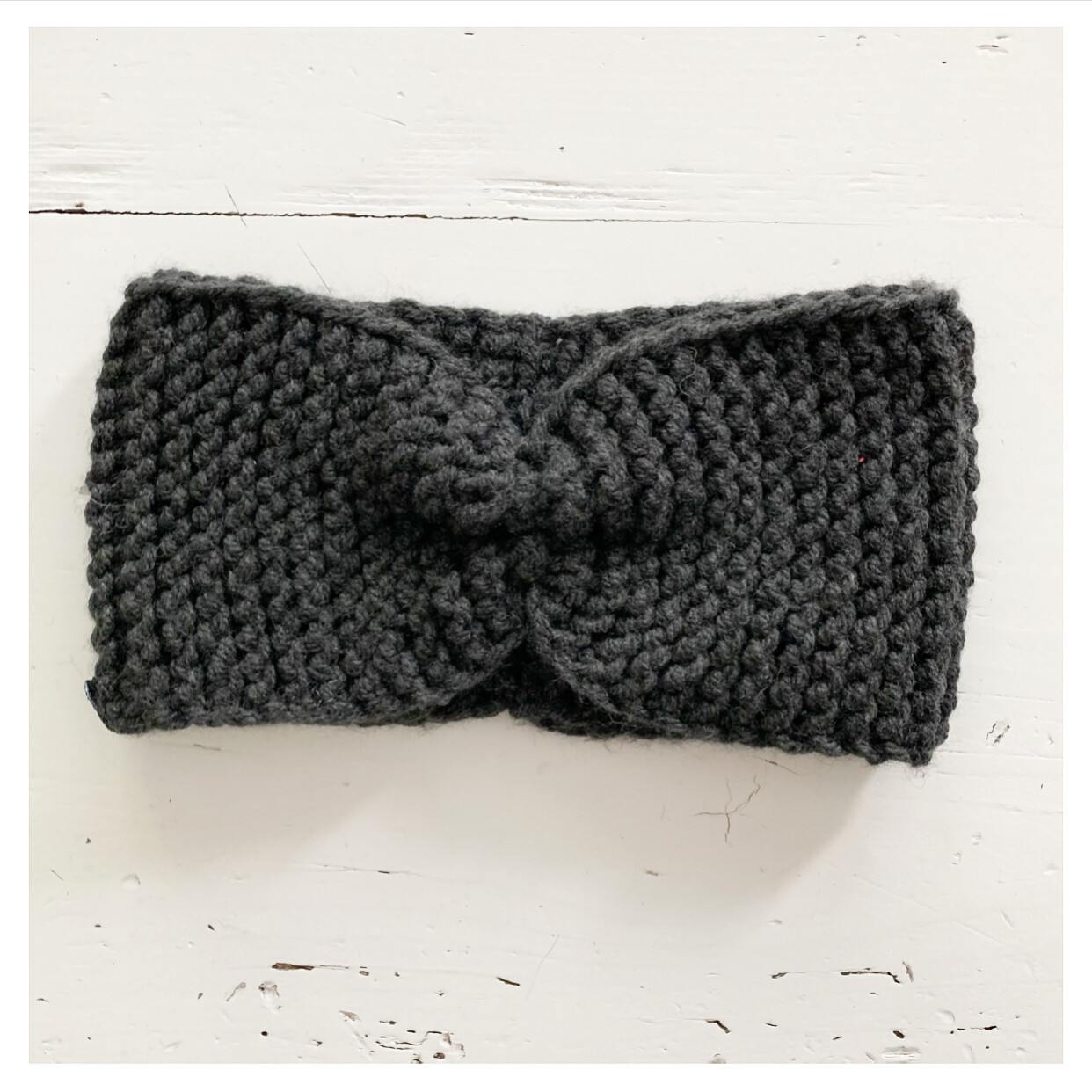 Dark Grey Headband II