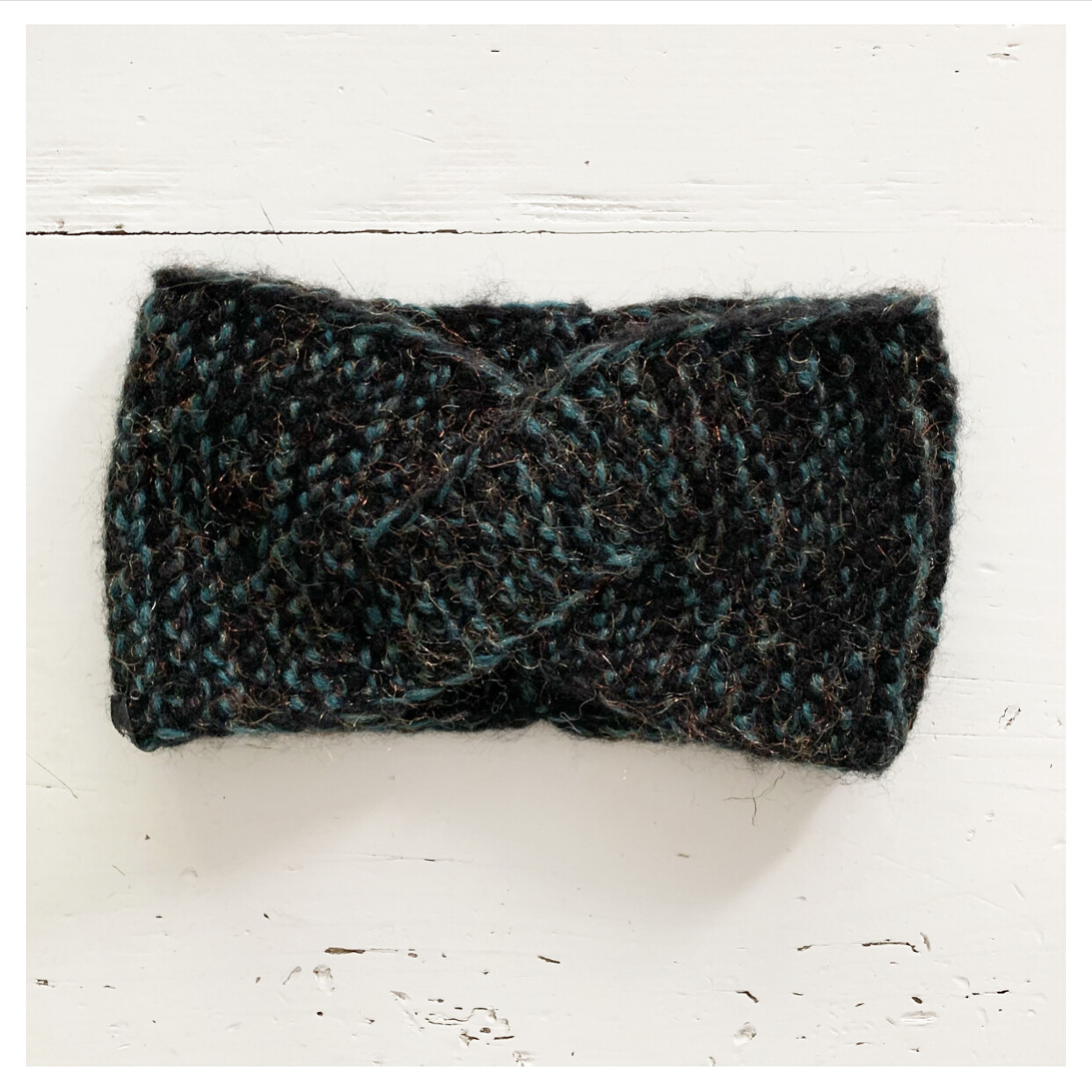 Green and Drak Grey Headband II