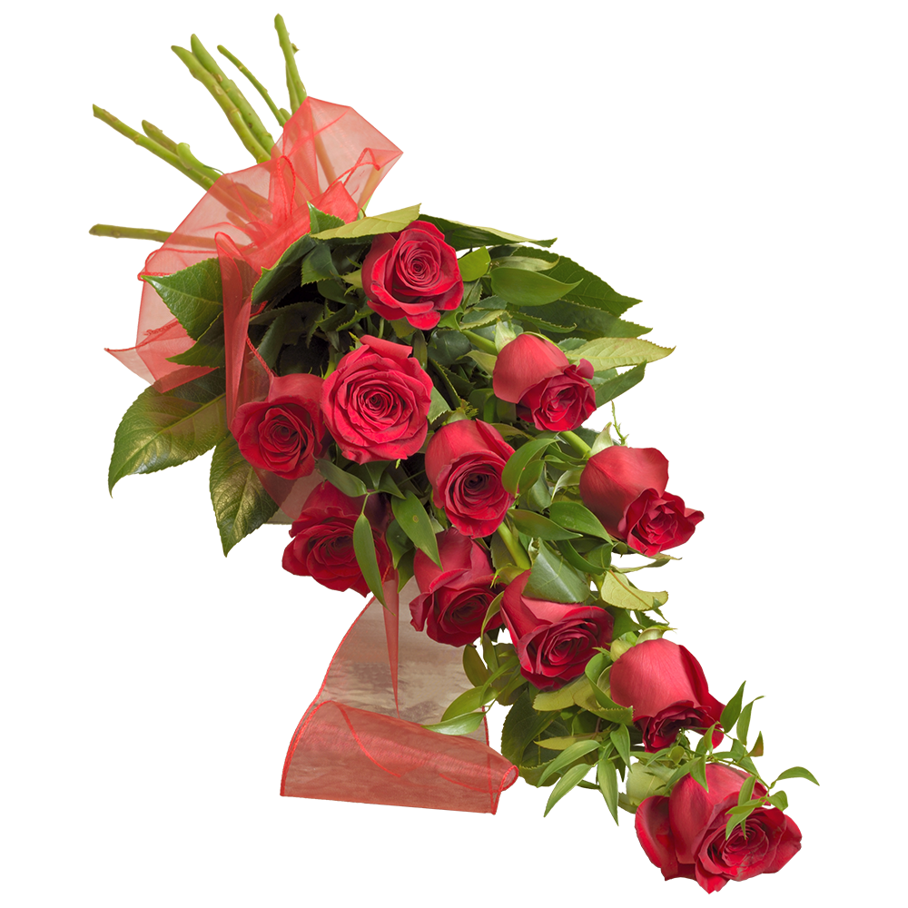 11 červených ruží z lásky