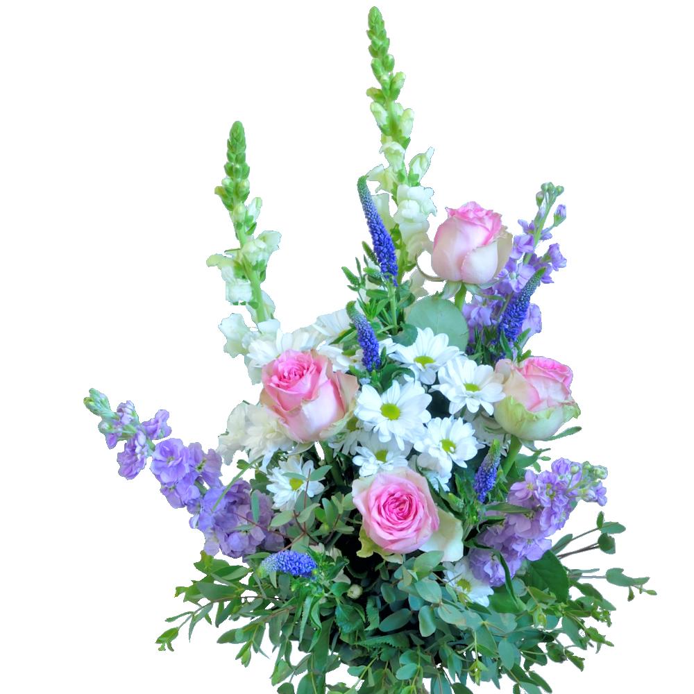 Romantická kytica ako z anglickej záhrady