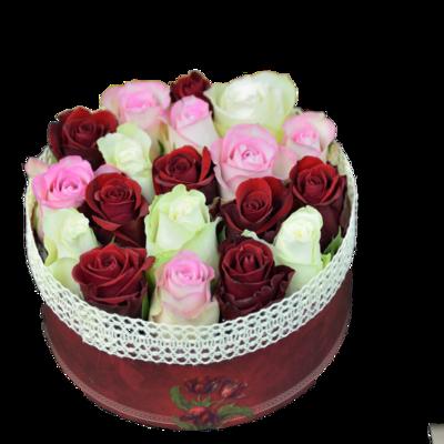 Ružová bonboniéra