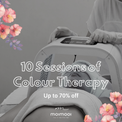 10 Sessions of colour therapy