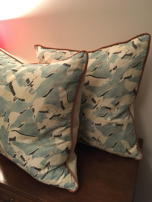 Crane Cushions