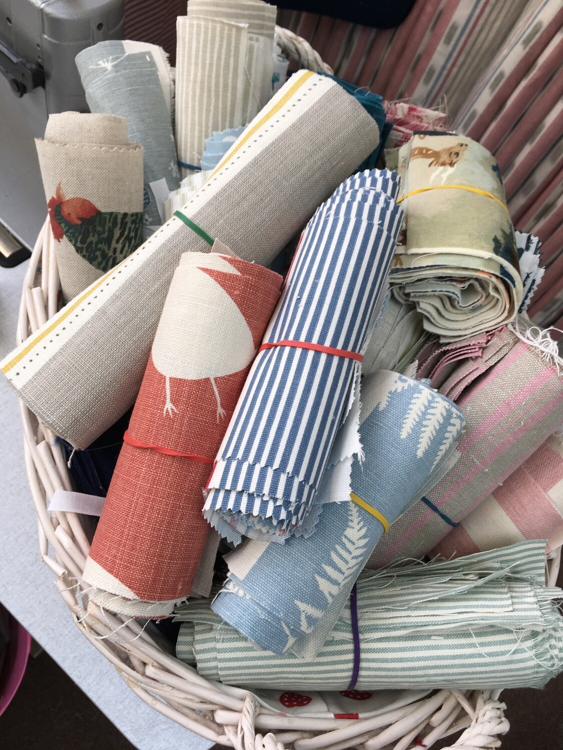 Little fabric bundles
