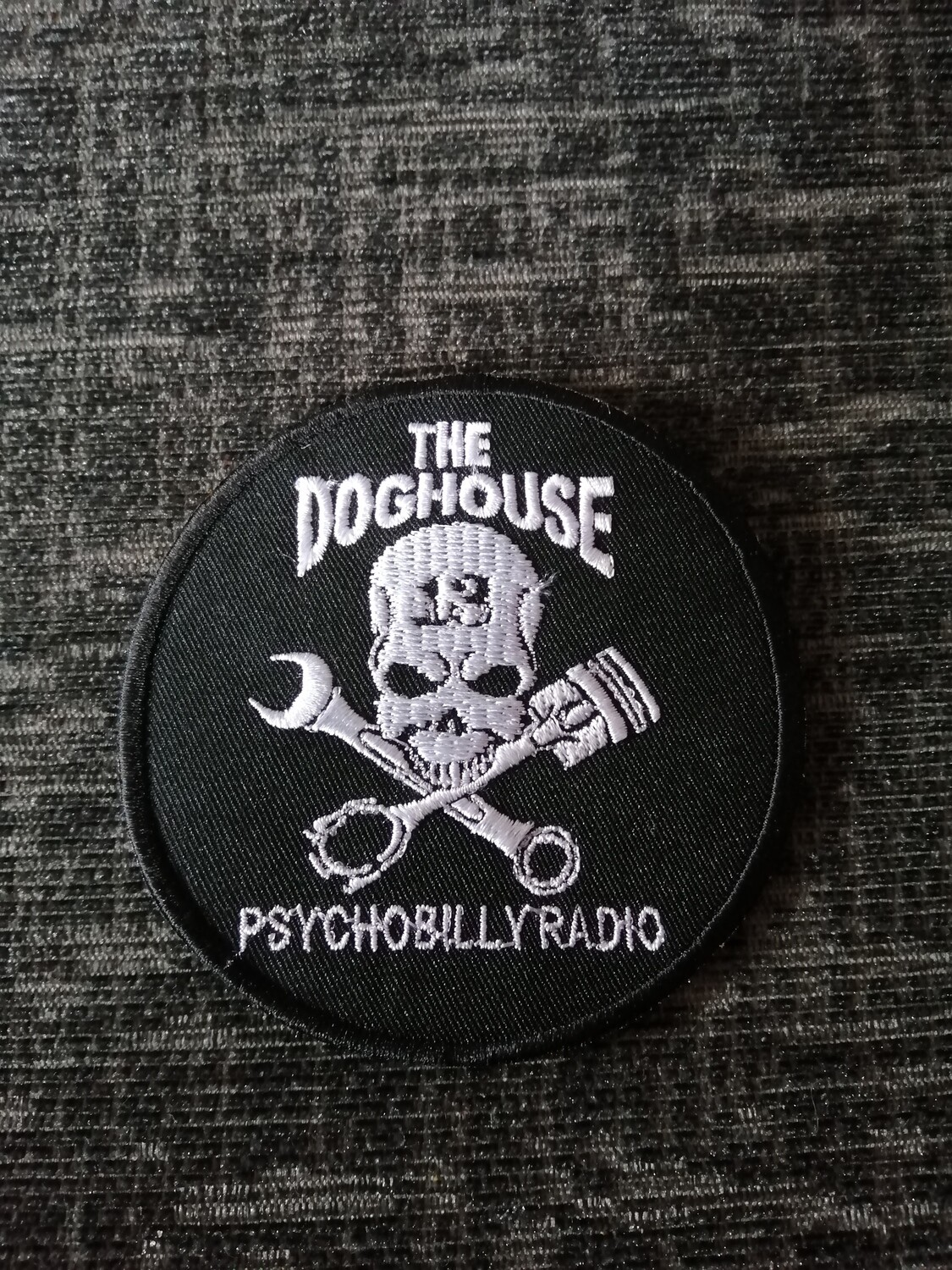 Doghouse Embroidered Patch