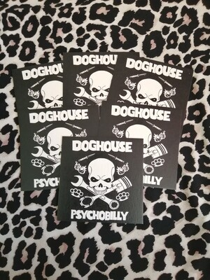 Doghouse Drinks Mats - pack of 6