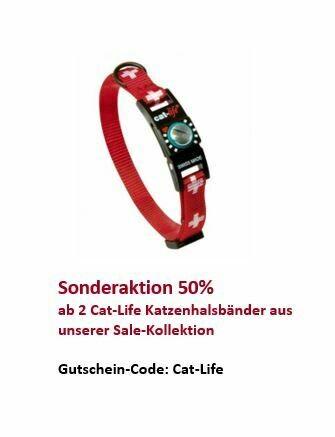 cat-life Katzenhalsband Schweiz, Verschluss 2 - 4 kg