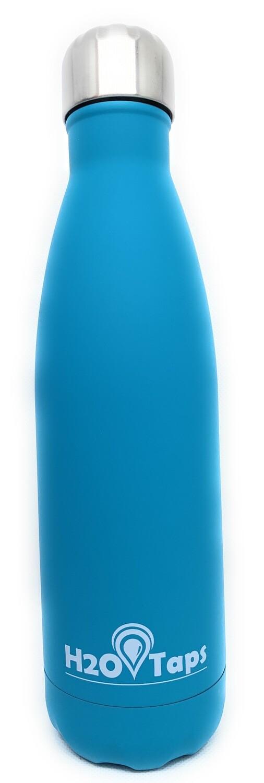 Botella Térmica de Doble Pared. 500ml. Acero Inoxidable