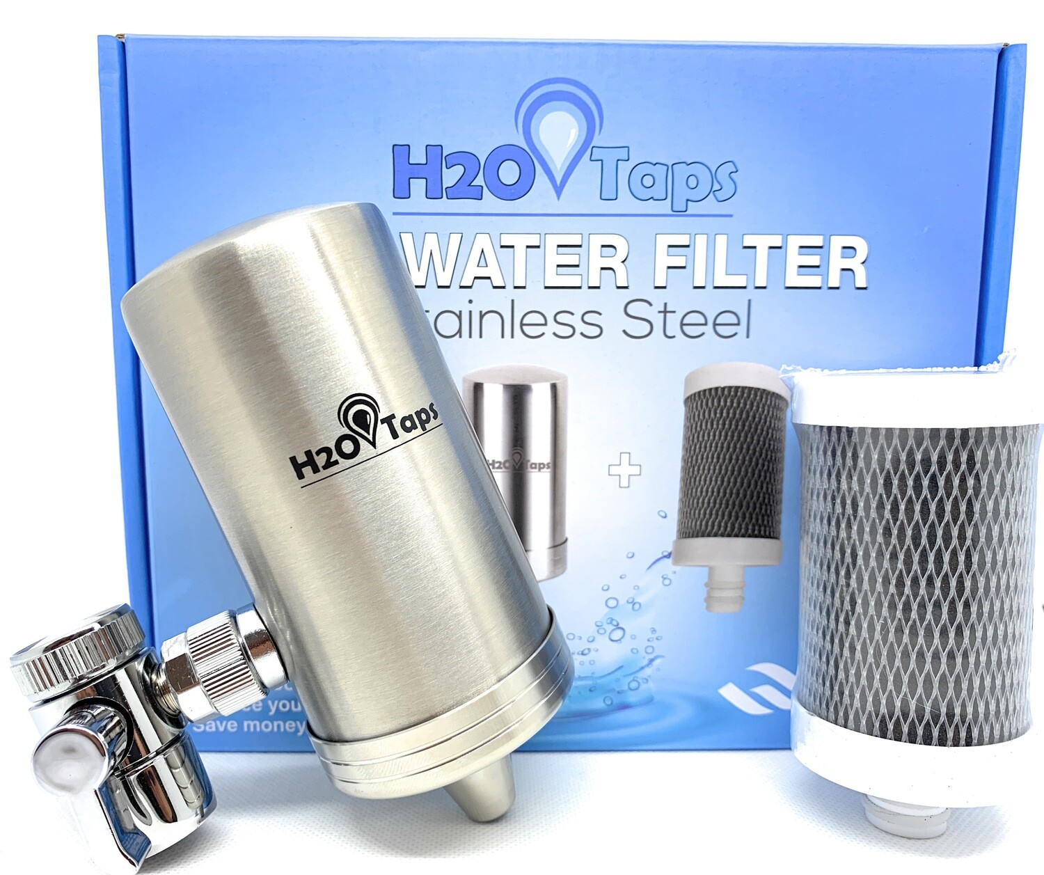 Tap Water Filter + 1 Cartridge - 3 months Filtered Water - Trial Pack