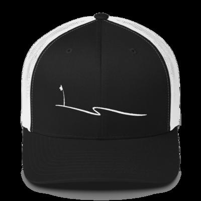 JKD Swoosh - Trucker Hat (Black / White)