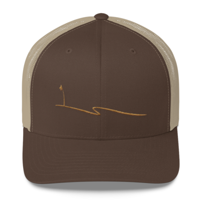 JKD Swoosh - Trucker Hat (Brown / Khaki)