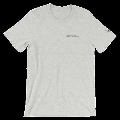 JKD Logo - Unisex T-Shirt (Black on Athletic Heather)