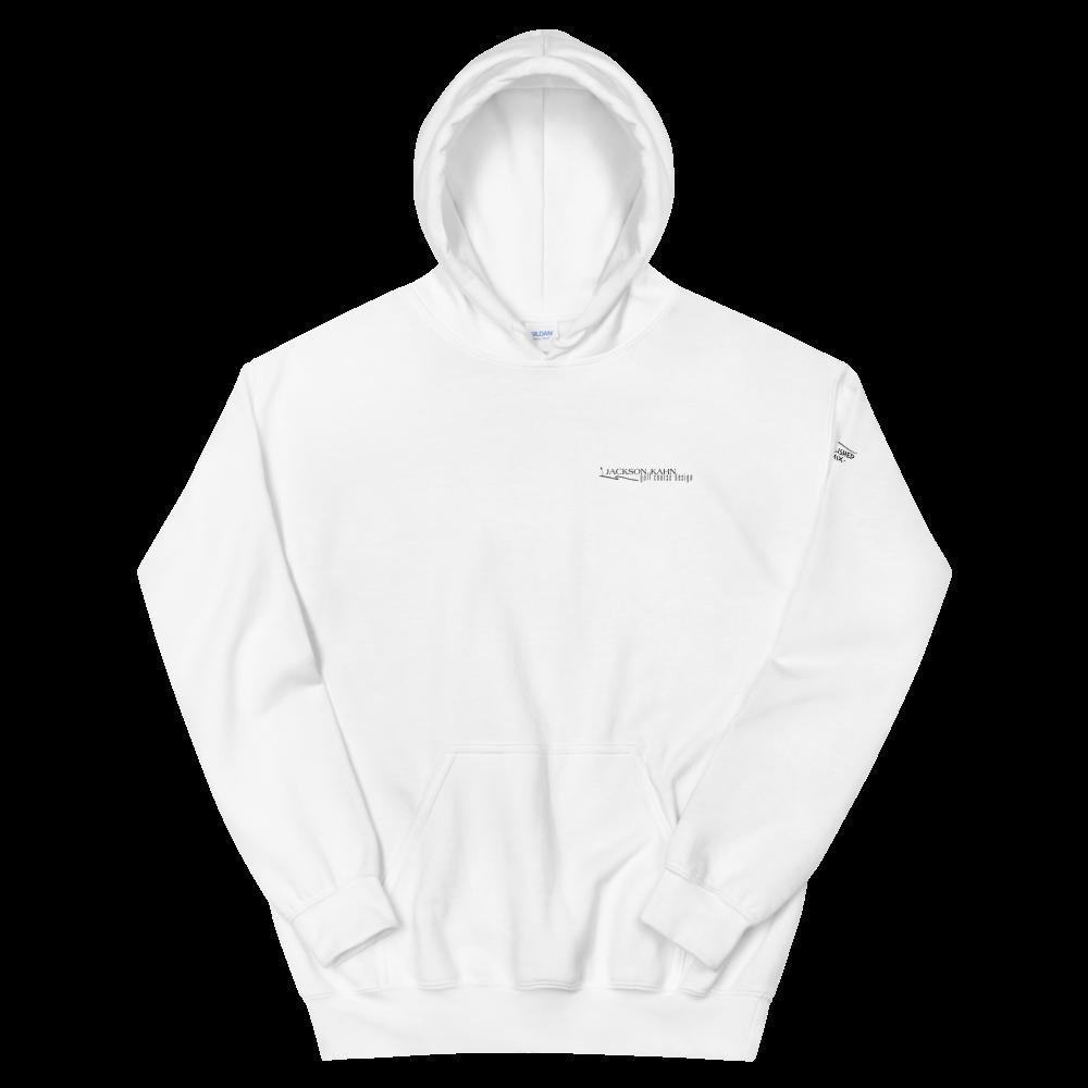 JKD Logo - Unisex Hoodie (Black on White)