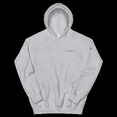 JKD Logo - Unisex Hoodie (Black on Gray)