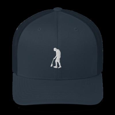 Paint Gunners - Trucker Hat (White on Navy)