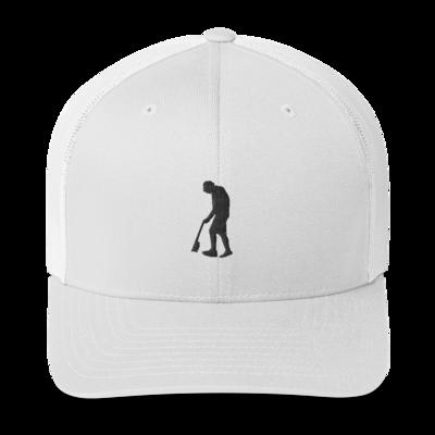 Paint Gunners - Trucker Hat (Black on White)