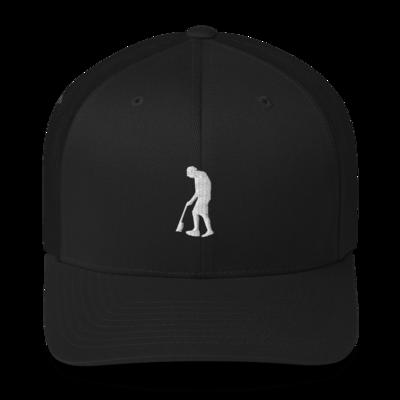 Paint Gunners - Trucker Hat (White on Black)