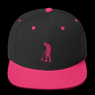 Paint Gunners Snapback Hat (Pink / Black)