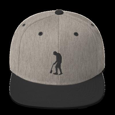 Paint Gunners Snapback Hat (Heather Gray / Black)