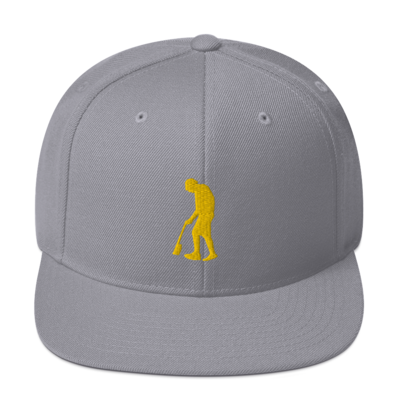 Paint Gunners Snapback Hat (Silver / Gold)