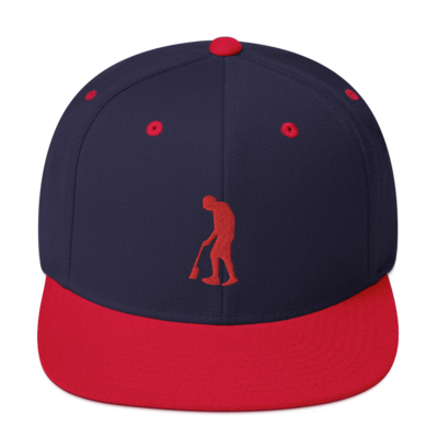 Paint Gunners Snapback Hat (Navy / Red)