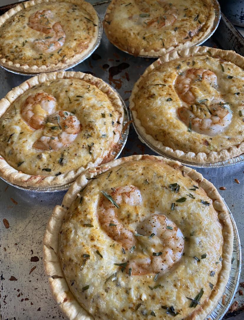 Crab & Shrimp Pie Personal size