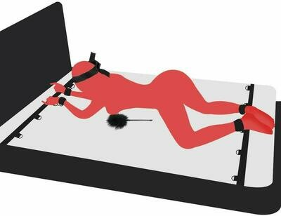 Sex Bondage for Couples with Spreader Bar