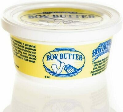 Boy Butter 4 Ounce Tub Personal Lubricant
