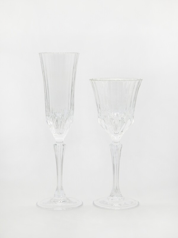 Martina Wine glass and Champagne flute