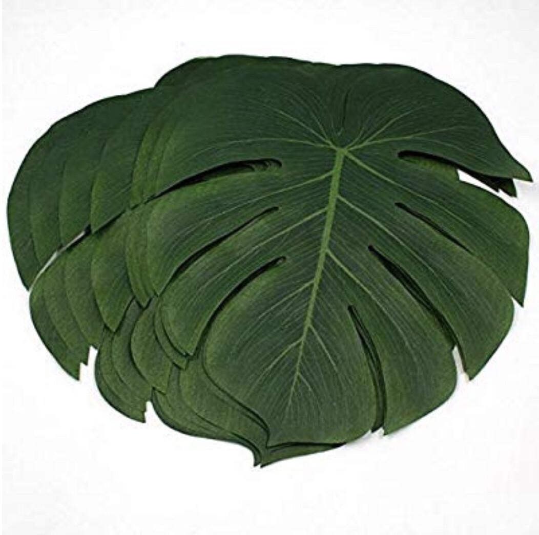 Decorative Palm leaves/Placemats