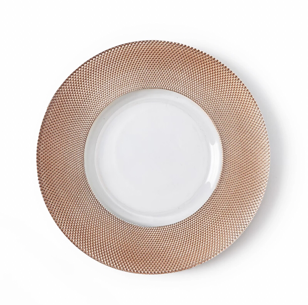 Gia Rose Gold Charger Plate
