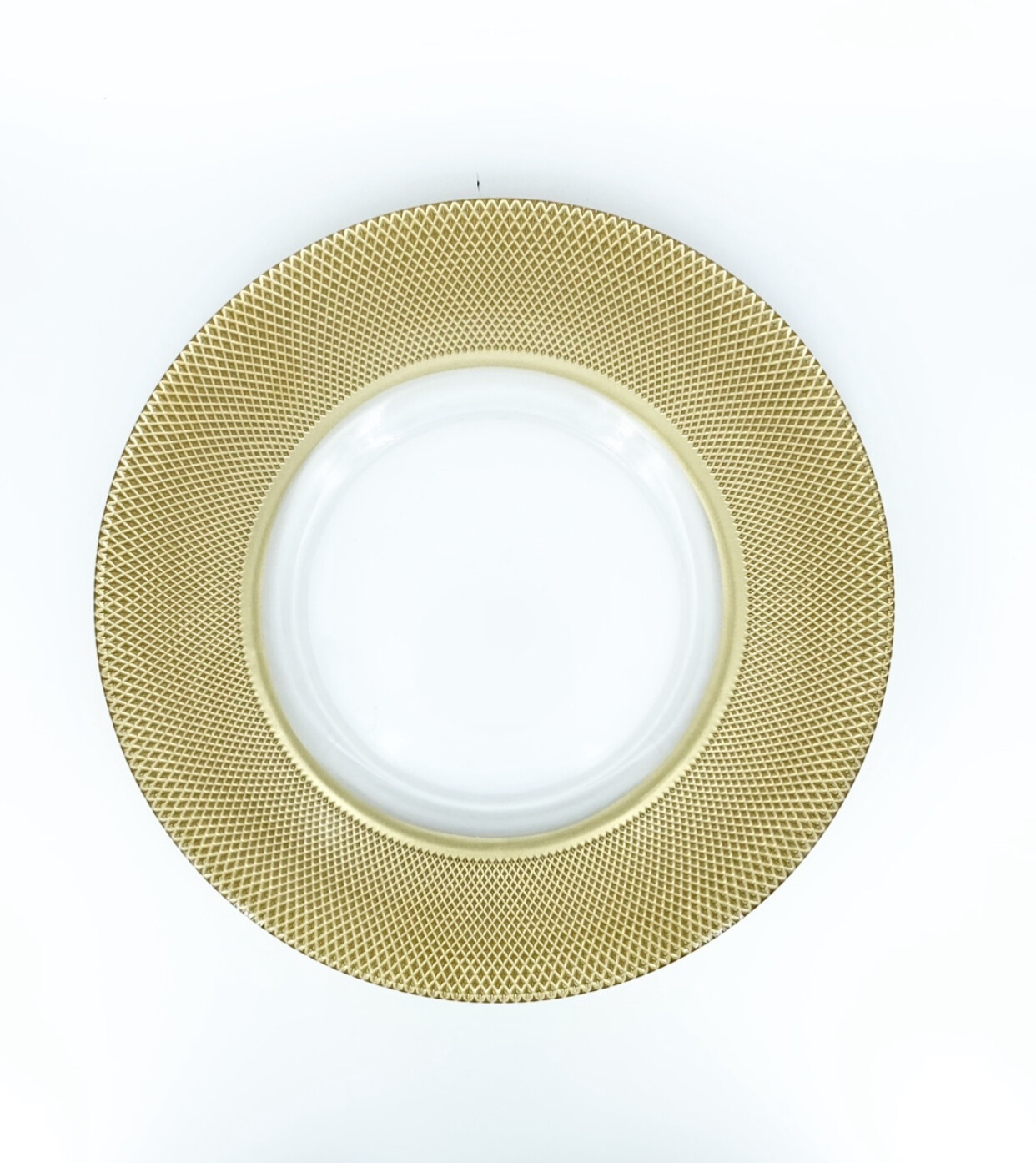 Gia Gold Charger PLate
