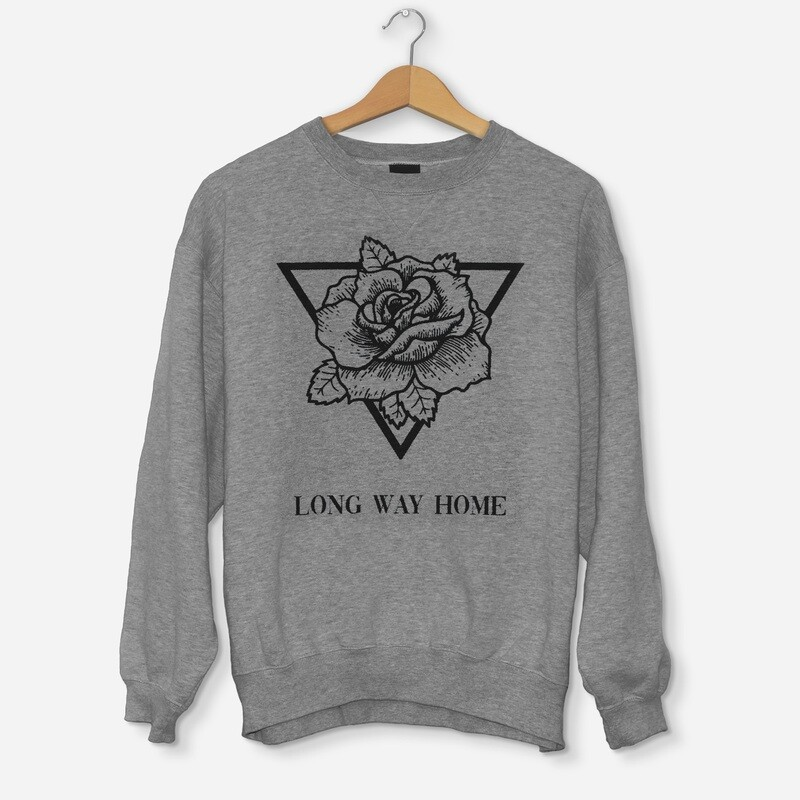 Sweatshirt Triangle Rose