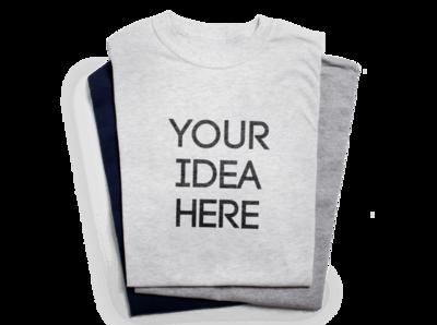 Design Print / Multi-Color T-Shirt