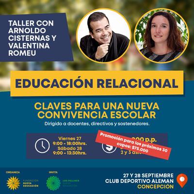 Taller Educación Relacional - con Arnoldo Cisternas & Valentina Romeu