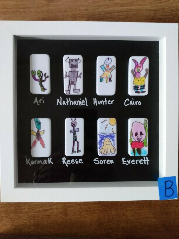 2nd Grade Art project--B