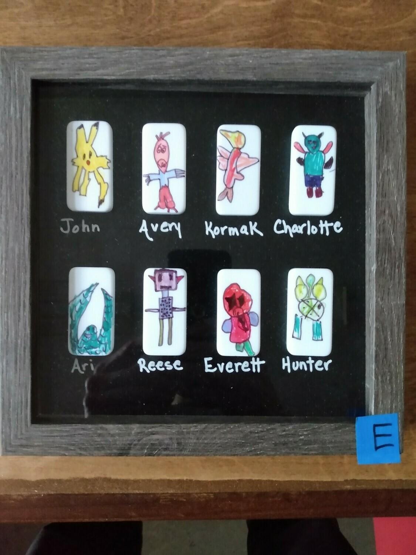 2nd Grade Art project--E