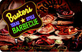 Buster's BBQ $25 gift card