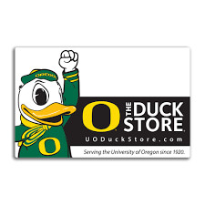 $30 Oregon Duck Store gift card