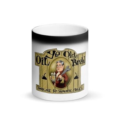 Ye Olde Oil Matte Black Magic Mug