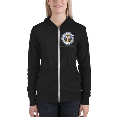 SSES Adult Lightweight Unisex zip hoodie
